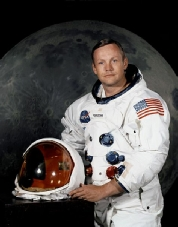 Neil Armstrong. Click for Guardian article